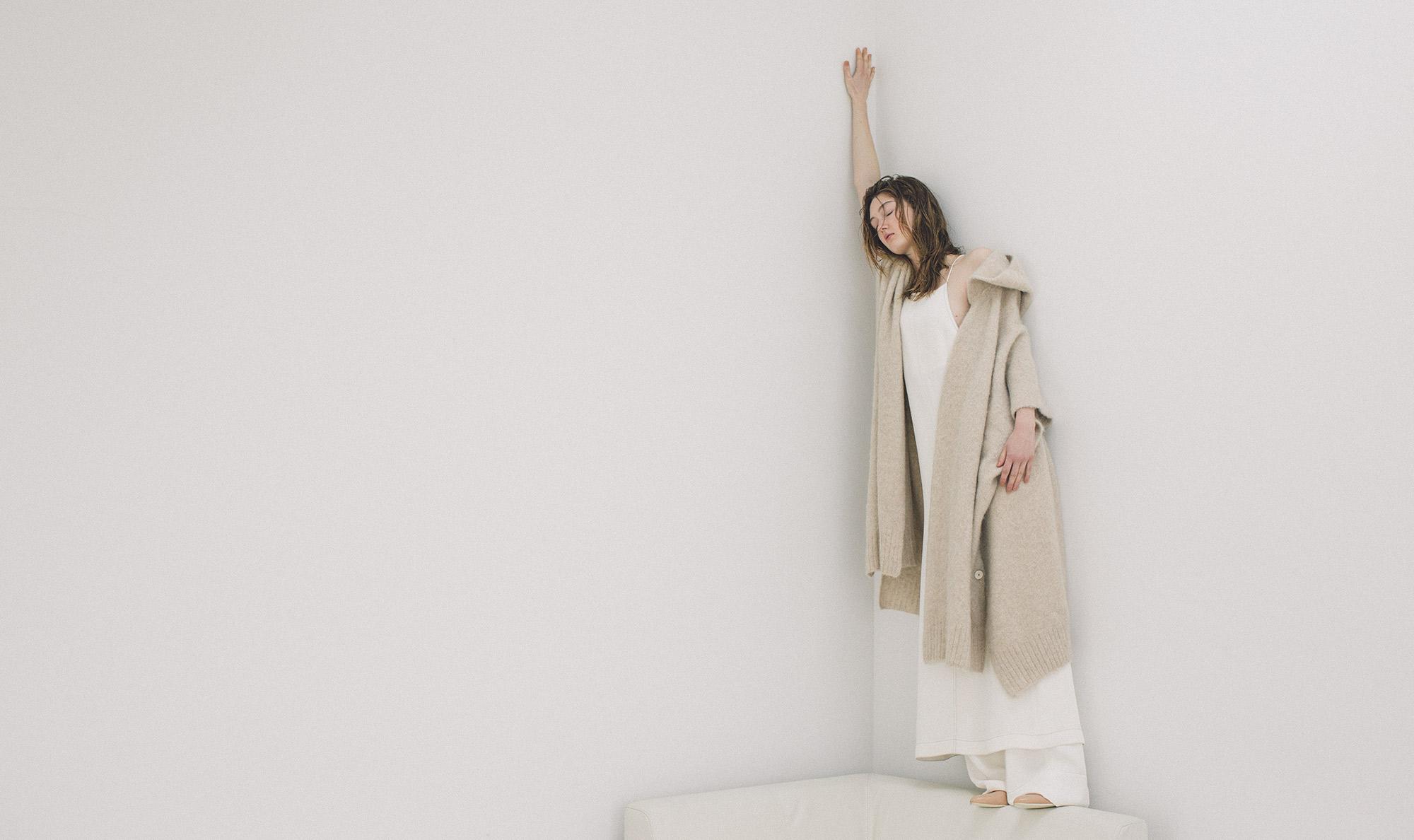 hoodie poncho / long dress