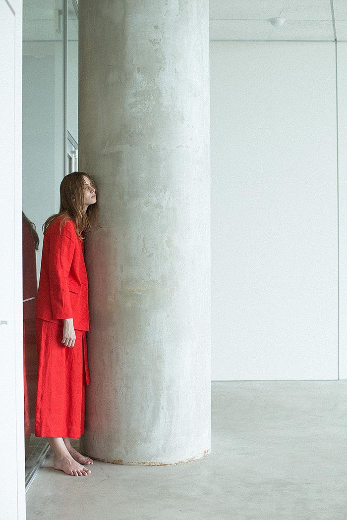 jacket / long skirt